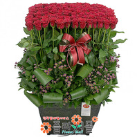 널 사랑해 100송이 장미_ 빨간장미꽃바구니 100송이 전국 꽃선물 플라워몰