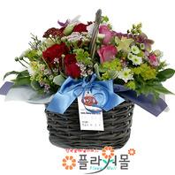 [당일배송]사랑향기♡ 장미 꽃바구니 꽃다발 생일 기념일 꽃선물_꽃배달당일배송_명품꽃배달[플라워몰]