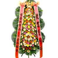 [당일배송]축하가득♪축하3단_ 화환배달 결혼축하 개업식화환 _ 축하화환배달전문[플라워몰]