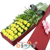 [당일배송]사랑의 불시착♡ 장미꽃다발 꽃상자 생일 기념일 꽃선물 꽃배달당일배송_ 전국꽃배달 전문[플라워몰]