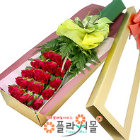 [당일배송]내 안에 너 있다♡ 장미꽃다발 꽃상자 생일 기념일 꽃선물 꽃배달당일배송_ 전국꽃배달 전문[플라워몰]