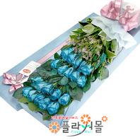 [당일배송좋은 느낌♡ 장미꽃다발 꽃상자 생일 기념일 꽃선물 꽃배달당일배송_ 전국꽃배달 전문[플라워몰]
