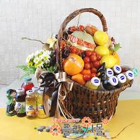 웰빙골드1호(꽃과 과일 ,음료)
