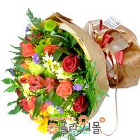 [당일배송]사랑이 오면♡ 장미 혼합 꽃다발 생일 기념일 꽃선물_전국 당일꽃배달서비스_명품꽃배달[플라워몰]