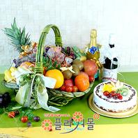 기쁨1호(과일,샴펜(무알콜),와인(저알콜1%미만),케익)