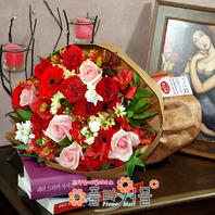 [당일배송]편지(詩.윤동주)(하나)♡ 장미 꽃다발 생일 기념일 꽃선물_전국 당일꽃배달서비스_명품꽃배달[플라워몰]