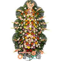 [당일배송]행복가득♪축하3단(특)_ 결혼화환문구 결혼축하화환 개업축하화환 화환배달 결혼축하 개업식화환당일배송_ 결혼화환배달전문[플라워몰]