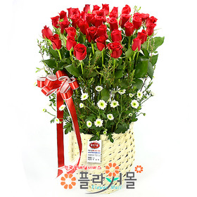 [당일배송]빨간우체통♡ 장미 꽃바구니 꽃다발 생일 기념일 꽃선물_전국 당일꽃배달서비스_명품꽃배달[플라워몰]