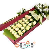 [당일배송]그대는 예뻐요♡ 장미꽃다발 꽃상자 생일 기념일 꽃선물 꽃배달당일배송_ 전국꽃배달 전문[플라워몰]