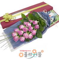 [당일배송]사랑의 시작♡ 장미꽃다발 꽃상자 생일 기념일 꽃선물 꽃배달당일배송_ 전국꽃배달 전문[플라워몰]
