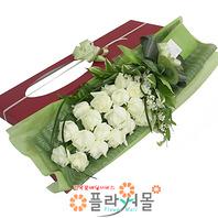 [당일배송]결혼해줄래♡장미꽃다발 꽃상자 생일 기념일 꽃선물 꽃배달당일배송_ 전국꽃배달 전문[플라워몰]