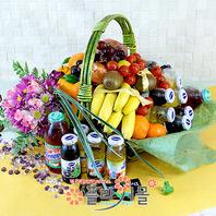 웰빙플러스1호(꽃과 과일,음료)